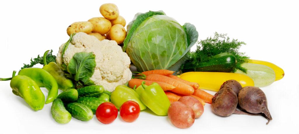 Obst und Gemüse regional